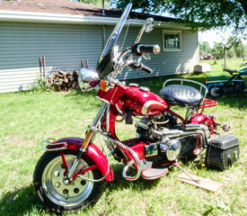 1960 Cushman Eagle with modified 25hp