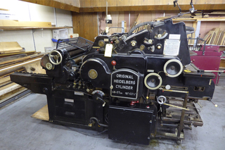 Original Heidelberg Cylinder Press