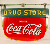 Enamel Signs, Displays, Coke, Apothocary & Collector Auction- Higginsville, MO