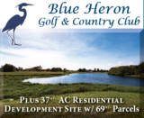 FOR SALE Blue Heron Golf Course