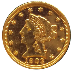 1903 $2.50 Gold