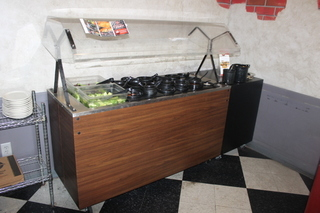 Cold Buffet Portable Salad Bar
