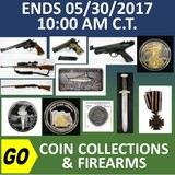 ONLINE ONLY ABSOLUTE AUCTION - Coin Collections and Firearms