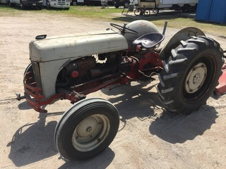 1943 Ford Model 2N Tractor w/ Blade & Mower Attachment, Running