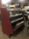 USED SOUTHERN 12' DELI CASE & HOT FOOD DISPLAY 48