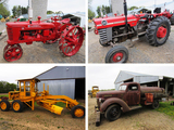 Antique Farm Machinery - Shafer, MN