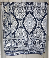 Blue & White coverlet