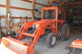 KUBOTA L5060 GST TRACTOR, SMALL EQUIP & TOOLS