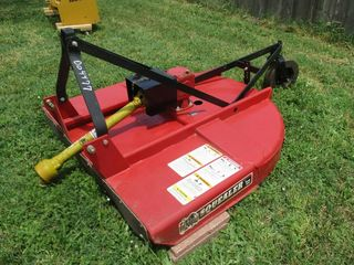 Mahindra Tractor Amp Attachments Theurer Auction