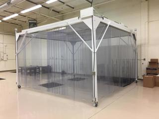 USED PORTABLE CLEAN ROOM u0026 CABINETS FOR SALE IN MA & USED PORTABLE CLEAN ROOM u0026 CABINETS FOR SALE IN MA - American Auctions