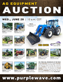Ag Equipment Auction