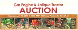 Gas Engine & Anitque Tractor Auction