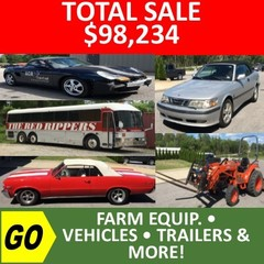 ONLINE ONLY ABSOLUTE AUCTION - Farm Equipment - Vehicles - Trailers