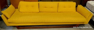Mid-Century Sofa & Other Furniture