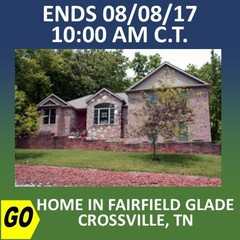 CHANCERY COURT ONLINE AUCTION: HOME IN FAIRFIELD GLADE