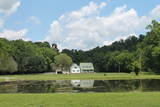 Country Creekside Home on 7 acres w/ Lake