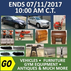 Absolute Online Auction - Personal Property