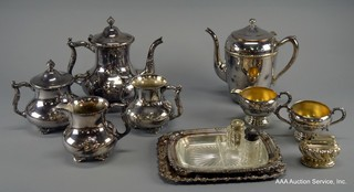 Large Selection of Sterling & Silverplate Pieces