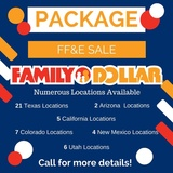 Former Family Dollar Store Package Sale