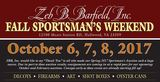 Oct 6 2017 - Fall Sportsman's