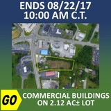 ONLINE CHANCERY COURT AUCTION: Commercial Buildings on 2.12Ac± Lot.