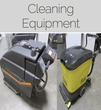 INSPECT THURSDAY! Cleaning Equipment Online Auction Baltimore, MD