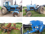 Ford 8700 & 8000 Tractors & Equipment - Milltown, WI