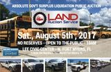 Huge Gov't Surplus and Consignment Auction!