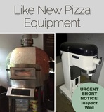EXTENDED due to logistics Pizza Oven and Restaurant Goods Online Auction! NJ & NY