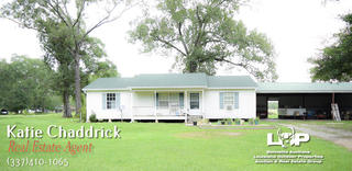 3 bed 2 bath home on over 2 acres for sale in Oakdale, LA