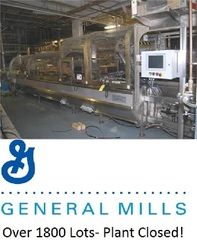 Internet Bidding Only Auction- General Mills, Inc. Surplus Equipment Auction- Plant Closed- Over 1800 Lots!