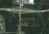 19.335+/- ACRES UNDEVELOPED COMMERCIAL LAND - PINE BLUFF, AR.