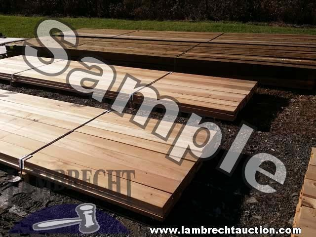 Online Building Material Auction Lambrecht Auction Inc