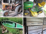 Farm Estate - Some Orchard Equipment – Kewaunee, WI