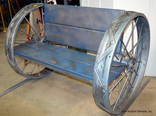 Tractor Wheel Bench