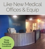 New Medical Offices (3) Locations Online Auction Maryland