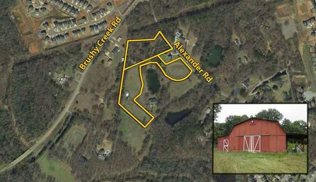 8.3± Acres on Alexander Rd. Greer, SC: