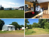 Commercial Buildings, Home & Recreational Land – Bruce, WI