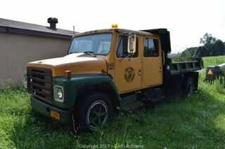 Online Auction ONLY - Surplus Vehicles & Equipment in Concord & Collins, NY