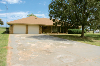 Brick Home & Barn Offered in 2 Tracts