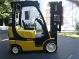 USED 2009 YALE FORKLIFT MODEL GLC050VXN FOR SALE IN TX