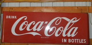 One of many Coca Cola items
