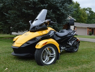 Can Am Spyder, 2008, motorcycle