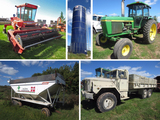 Tractors, Harvestore & Machinery - Manawa, WI