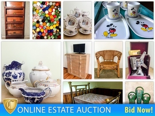 Mid Century, Antiques, Primitives & Collectibles Auction- Liberty: Ends 10-4-2017