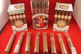Vintage High Grade Cigars, Humidors and Tobacco Estate Timed Auction