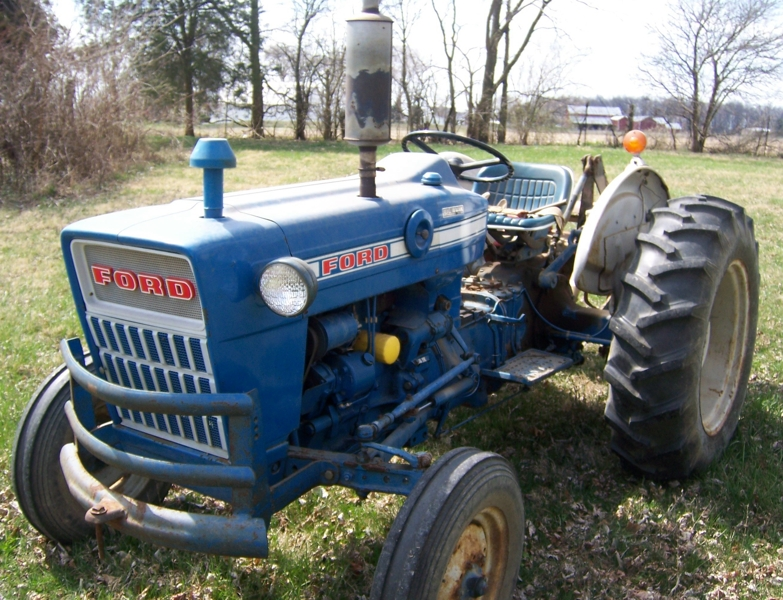 Ford Tractor Model 501 : Auction information