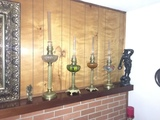 Online Only Antique Oil Lamp and Lighting Auction!
