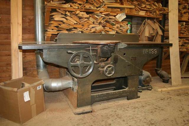 Commercial Woodworking Equipment, Building Materials - The