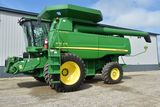 LARGE CLEAN LOW-HOURED, LIKE NEW JOHN DEERE FARM RETIREMENT AUCTION BEN BOYUM